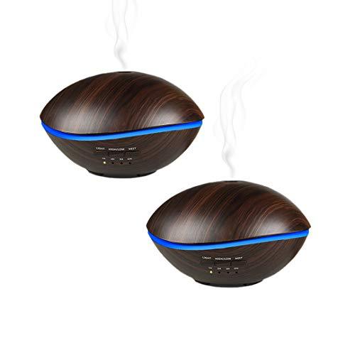 Pamura - 2 Stück Blue Living - Aroma Diffuser - Duftöl-Diffuser - Luftbefeuchter - Aromaöle - Lufterfrischer
