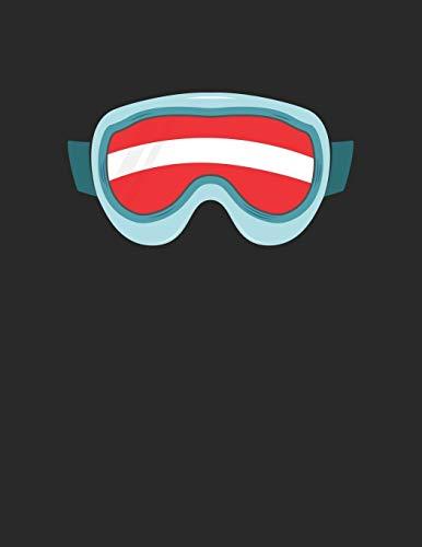 Ski und Snowboard Reisetagebuch: Notizbuch für alle Wintersportler ♦ Mit über 100 vorgefertigten Seiten genug Platz für alle Winterurlaube ♦ Notiere ... u.v.m. ♦ A4+ Format ♦ Motiv: Ski Austria