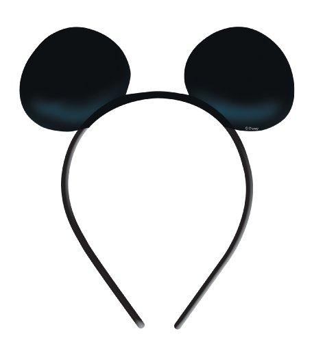 amscan - 994158 - Accessoire - Déguisement - Oreilles Mickey Mouse X4