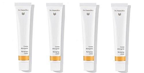 Dr.HAUSCHKA – Crème Nettoyant 4 boîtes de 50 ml, nettoyant base pour le matin et le soir, action purifiante.