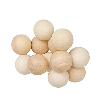 Manhattan Toy Natural Classic Baby Beads Wood Rattle, Teether, and Clutching Toy