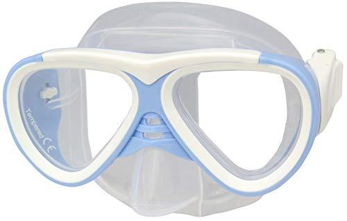 IST Proline M-59 Kinder Taucherbrille (M-59 Weiß-Hellblau)