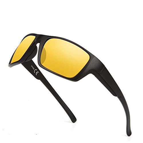 Zolimx- Occhiali Ciclismo Uomo Et Donna Occhiali da Sole Aviatore Ovali Non Polarizzate Uomo Donna Con Protezione Occhiali Occhiali da Vista Personalizzate Tendenza Steampunk Occhiali Unisex Vintage