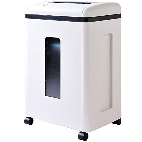 Find Discount Shredder 10 Sheet A4 Office - High Performance Crush Credit Card CD - Large 30 Litre W...