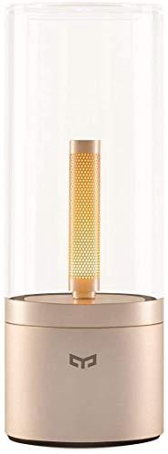 Yeelight | Candela Stimmungsleuchte | Gold, Tischlampe, 2100mAh Lithiumbatterie via USB-Ladevorgang, 6.5 W