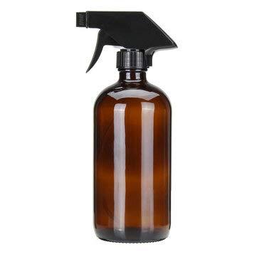 Makeup Tools Bouteilles rechargeables en verre ambré 500 ml