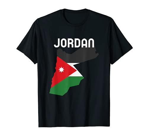 Camisa Jordana Bandera Jordania Día de la Independencia Jordana Camiseta