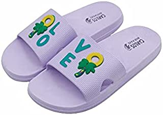 Carlos Unisex Kids Splash Slippers 27 Purple