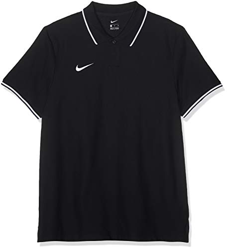Nike Herren M TM CLUB19 SS Polo Shirt, Schwarz (Black/White/010), XL