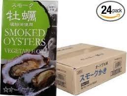 スモーク牡蠣缶詰(オードブル味) ×24