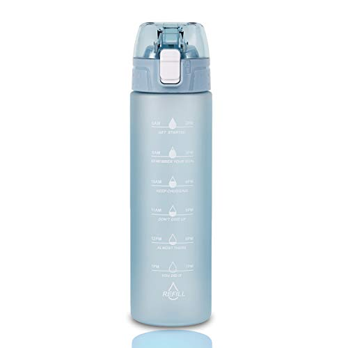 (40% OFF) 24oz Water Bottle with Times to Drink $7.79 – Coupon Code