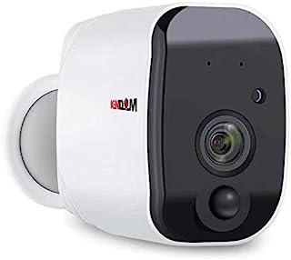 Kendom Outdoor wire-free 1080p Full HD Battery Camera 2.4G WiFi Wireless IP66 Waterproof IP Camera Indoor Home Security H....