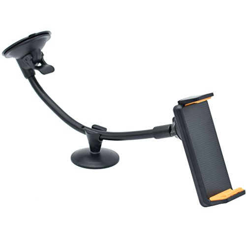 Buwei Universal Car Windshield Suction Mount Holder Stand para 4'-10' Tablet PC Phone
