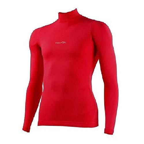 Camiseta Térmica Interior Sottomaglia MACRON Alpha Alto Turtle Neck Compression Rojo rojo Talla:S-M