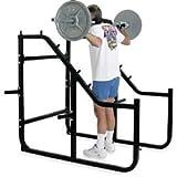 Champion Barbell Step Squat Rack Gym Equipment