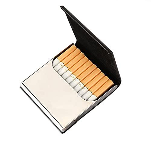 スライド式たばこケース タバコケース 10本収納 [ブラック]