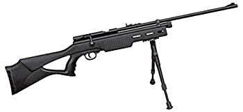 Beeman CO2 Air Rifle.177 Caliber Rifled Barrel 1 Shot Synthetic Stock Black