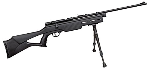 Beeman, CO2 Air Rifle.177 Caliber, Rifled Barrel, 1 Shot, Synthetic Stock, Black