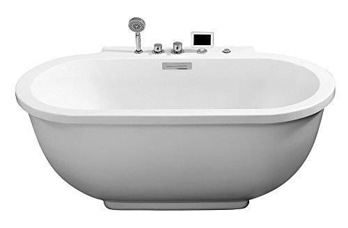 ARIEL Platinum AM128JDCLZ Contemporary Air Bathtub