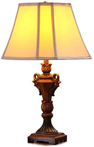 Schreibtischbeleuchtung Tischlampe Wohnzimmer Dekor Schlafzimmer Nachttischlampe Vatage Schreibtisch Licht Europäische Retro Doppeljalousien Stoff Chrom Dekoration Hochwertige Tischlampe
