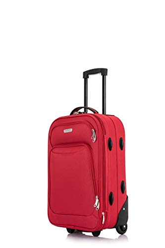 Easyjet & Ryanair 18' & 21' Cabin Hand Luggage Trolley Case Suitcase Wheeled Luggage