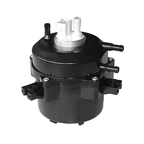 Conjunto de la bomba de combustible Reemplazo universal Kit en línea externo adecuado Volkswagen OEM 043919051 BAA919051C 919073001 (Negro)