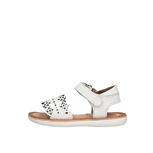 Sandalias de niña GIOSEPPO en Piel Blanca 47134-BLANCO