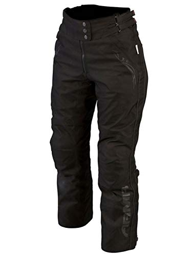 ARMR Moto Kira 2 - Pantalones impermeables para mujer, color negro