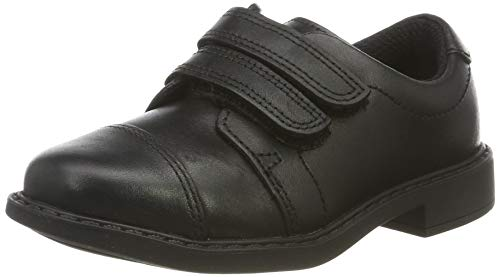 Clarks Jungen Scala Skye T Derbys, Schwarz (Black Leather), 27 EU
