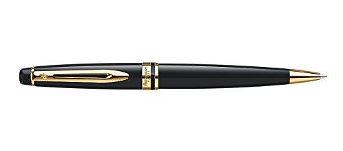 Waterman Expert Twist Stylo bille rétractable stylos à bille Medium Blue (Twist Stylo à bille rétractable, Bleu, Noir, Doré, Medium, métal, Doré)