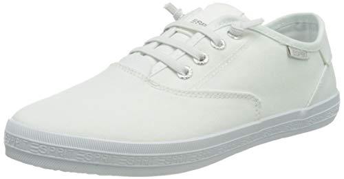 ESPRIT Canvas-Sneaker mit Logo-Sohle
