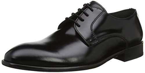 Lottusse L5881, Zapatos de Cordones Derby para Hombre, Negro (Slimer Negro 000),...