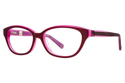 Price comparison product image Sperry Top-Sider Avon Womens Eyeglass Frames - Burgundy / Pink