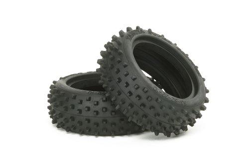 TAMIYA 300053088 - DF-02 Square-Spike Reifen vorne 60/24, 2 Stück