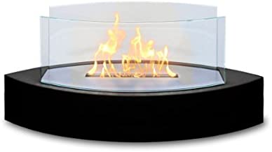 Anywhere Firepalce Anywhere Fireplace - Lexington Tabletop Ethanol Fireplace in Black High Gloss