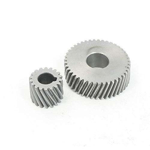 Par de engranajes helicoidales de herramientas eléctricas de alto rendimiento esenciales para la sierra circular Hitachi 4SB bien hecha (501-dc-3b-1b2)