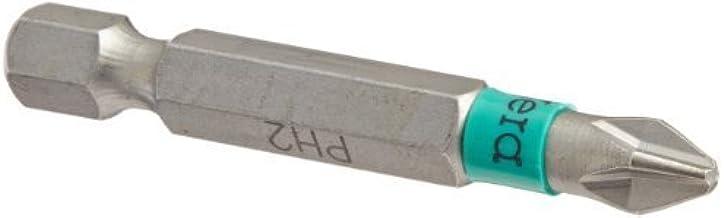 Wera Series 4 851/4 BTZ BiTorsion Bit, Phillips PH 2, 1/4