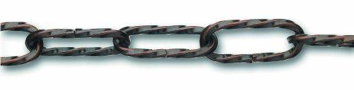 Chapuis LVBL16 Lampenkette - Verdrillter bronzierter Stahldraht - 10 kg - Durchmesser 2,2 mm - Länge 1,5 m