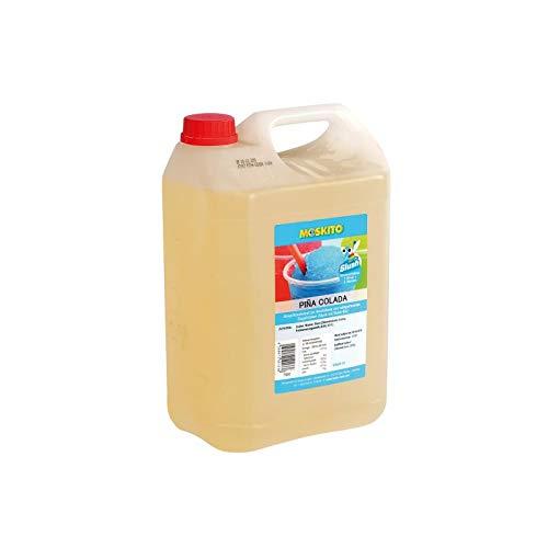 Sirope Slush Concentrado Slush Ice / Slush AZO Libre Hielo Pina Colada Sin Alcohol 5 litros equivale a 30 litros de Slush