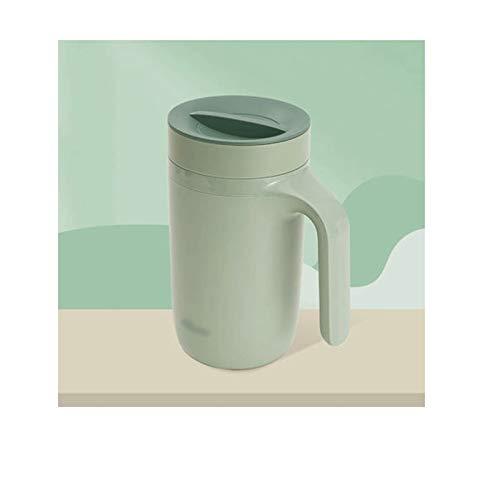 YHshop Taza de café Anti-Scalding Heat Aislation Cup Filtro de Gran Capacidad Taza de té con Tapa Simple Simple Color Sólido Taza Oficina Copa de Porcelana Taza de Agua