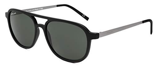 Polar sonnenbrille Cooper Herren polarisiert schwarz mit grüner Linse (ppar76)