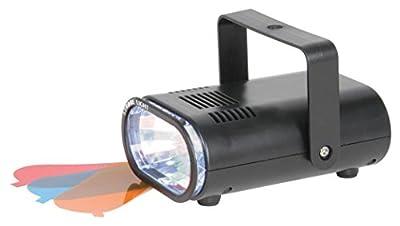 QTX 153.303 25W Mini Party Strobe Light - Black