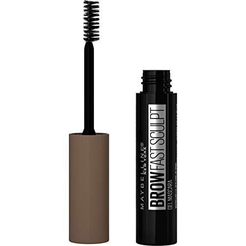 Maybelline Brow Fast Sculpt, Shapes Eyebrows, Eyebrow Mascara Makeup, Soft Brown, 0.09 Fl. Oz