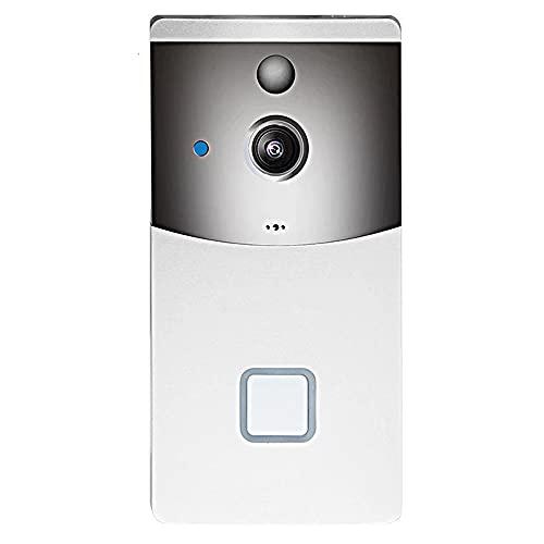 DADAS Video Doorbell, cámara de Timbre de Video inalámbrico, cámara de Timbre WiFi de Seguridad de 1080p HD, Sensor de detección de Movimiento, visión Nocturna infrarroja