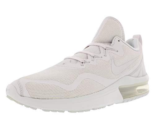 Nike Men's Sneakers Air Max Fury Running Shoes (White/Vast Grey, 8.5)