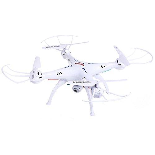 SYMA RADIO-CONTROLLED PRODUCT Syma X5SC-1 - Drone cuadricóptero con Control Remoto y cámara HD, Blanco