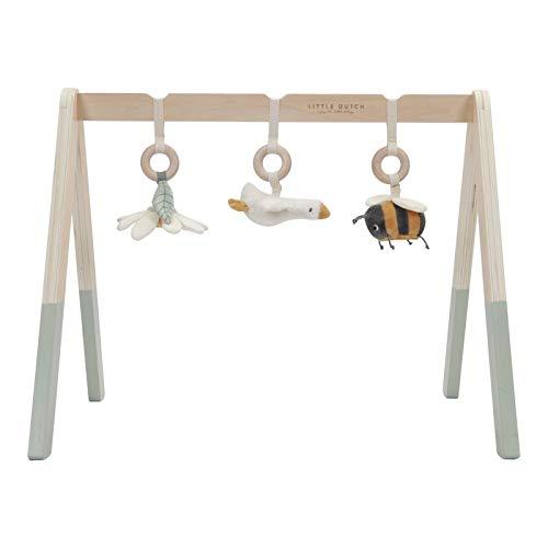 Tiamo Little Dutch 8510 Baby Gym Spieltrapez Holz mit Stoff Anhängern Kleine Gans