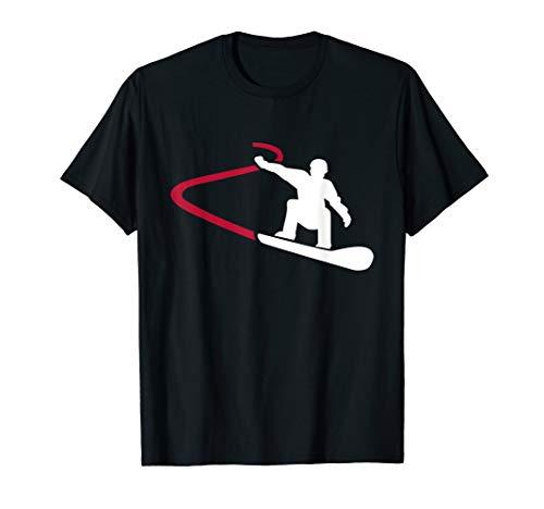 Snowboard Rennen T-Shirt