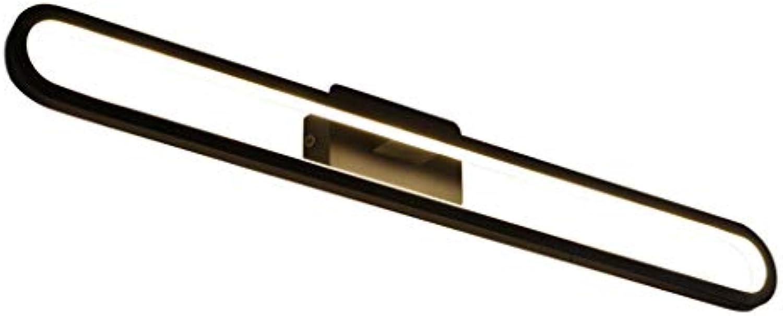 Spiegel Vorderlicht Kreative Ring LED Aluminium Badezimmer Wandleuchte Spiegel Schrank Licht (Farbe   Weies Licht-15W 40CM)