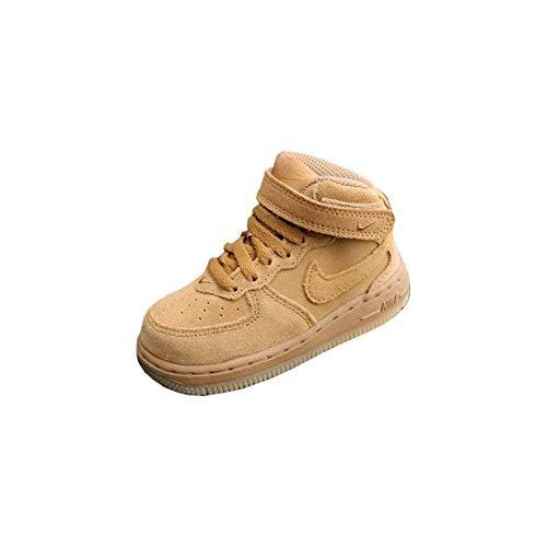 Nike Force 1 Mid LV8 (TD), Zapatillas de Estar por casa Bebé...